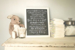 8x10 Hatmaker Motherhood Quote in Charcoal Gray by BrimPapery, $22.00 ...