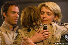 Borne, Teryl Rothery, and Amanda Tapping