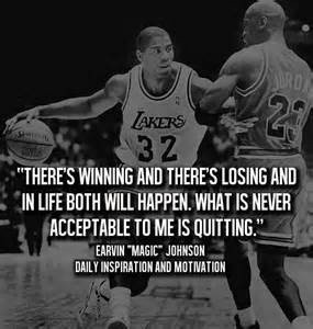 Magic Johnson quote: