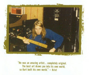 Krist quote about Kurt. c: