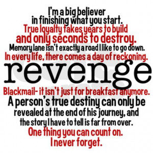 ... Fakes Years To Build And Only Seconds To Destroy - Revenge Quote