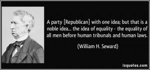 More William H. Seward Quotes
