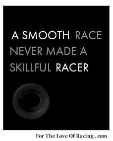 race-related quote. racing, motorsports