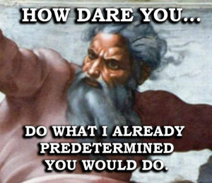 my blog exposing the logical fallacy of an inerrantly omniscient ...