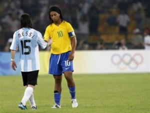 Soccer Quotes Ronaldinho Lionel messi & ronaldinho