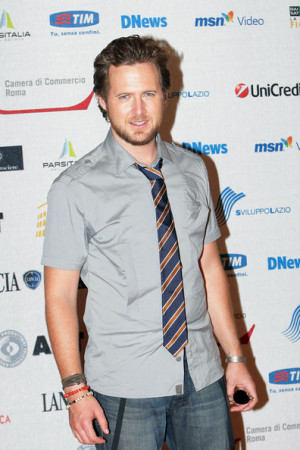 American actor A.J. Buckley, of the television series 'CSI New ...