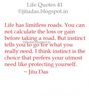 Life Quotes part 7 by Jitu Das
