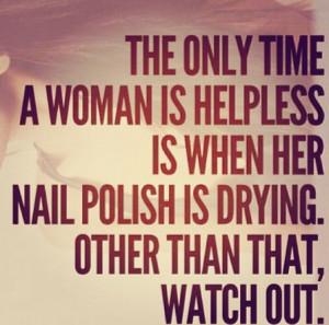 Nail Polish Quotes
