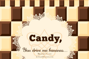Bar Quotes And Sayings Cute candy bar sayings