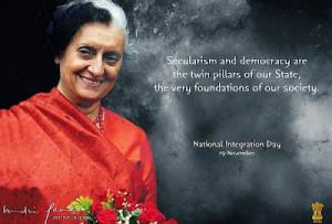 Beautiful Picture Of Indira Gandhi