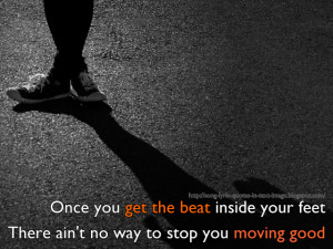 Burn The Disco Out - Michael Jackson Song Lyric Quote in Text Image