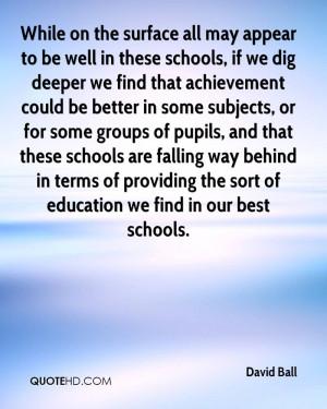 David Ball Quotes