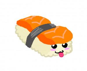 funny sushi