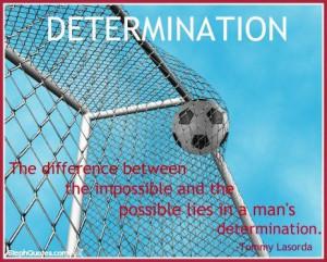 Determination #determination #soccer #sports #sportsgifts #soccergifts ...