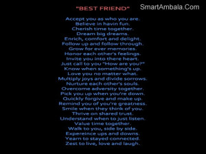 Best Friend Accept You As