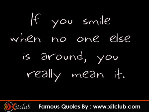 You Are Currently Browsing 15 Most Famous Smile Quotes