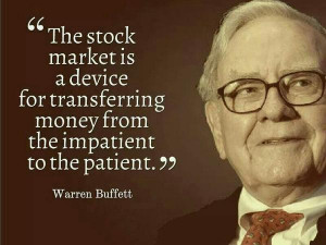 Warren Buffett Quotes, Patience & Investing, Value Investing Quotes