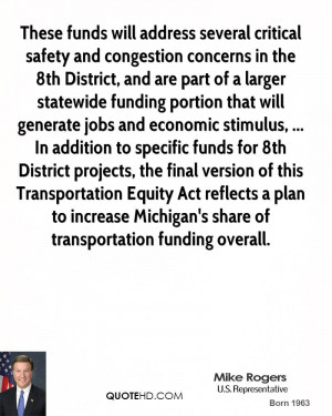 larger statewide funding portion that will generate jobs and economic ...