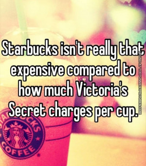 Starbucks Quotes Funny Starbucks isn't really that