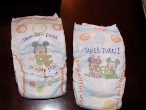 ... to put a smile on her face during those late night diaper changes