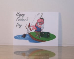Father's Day Card, Happy Father's Day, Fathers Day Card, Greeting Card