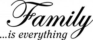 family is everything 21 x 9 wall quotes family friends wa256 $ 22 50 ...
