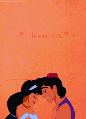 cartoon quotes / jasmine and aladdin