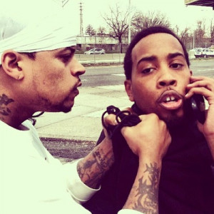 Skull Gang member and Juelz Santana affiliate Hynief posted a picture ...