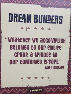 Teamwork Quotes For The Workplace Staak quotes: disney team