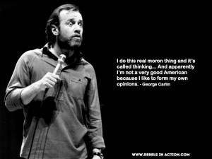 Go Back > Images For > George Carlin Quotes