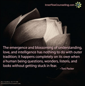 Emergence of Understanding, Love, and intelligence | Toni Packer Image ...
