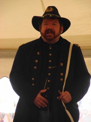 Generals at the Gettysburg Reenactment