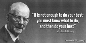 My Top 6 Quotes From the Original Data Scientist, W. Edwards Deming