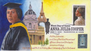 Hand Painted First Day Cover Design by Bob Emrick