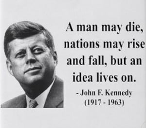 John F Kennedy Quotes Leadership John f. kennedy quote