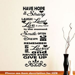 have-hope-inspirational-wall-stickers-quotes_-wall-decals_-wall-art ...