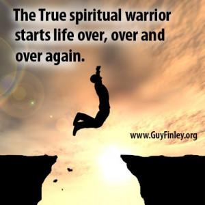 The True spiritual warrior... guyfinley.org