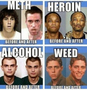 Effects of drugs – before vs after