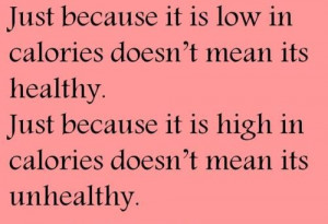 Runner Things #1192: Just because it is low in calories doesn't mean ...