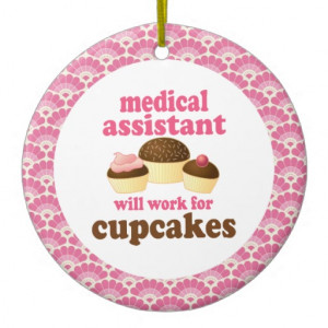Medical Assistant Gift Ornament