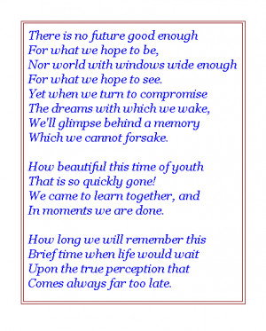 Graduation poems search results from Yahoo