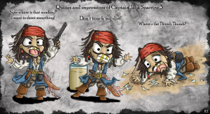 Captain Jack Sparrow Quotes of Little Captain Jack (3)