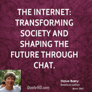 Dave Barry Society Quotes