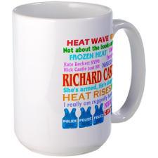 Richard Castle Funny Quotes Large Mug for