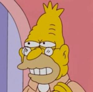 Grandpa Simpson Vampire