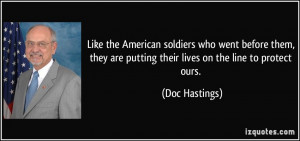 More Doc Hastings Quotes