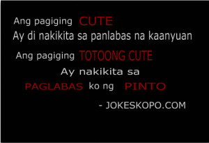 CUTE ay di nakikita sa panlabas na kaanyuan. Ang pagiging Totoong cute ...
