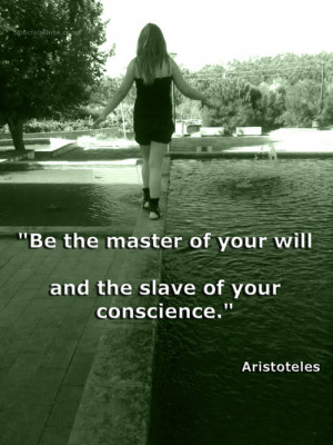 Aristoteles quote #conscience #Feeling Quotes #master #senhor #slave ...