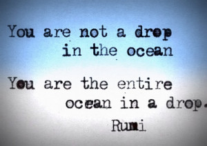 Rumi Inspirational Quote