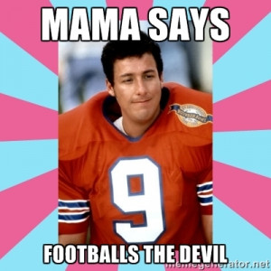 Go Back > Gallery For > Waterboy Meme The Devil